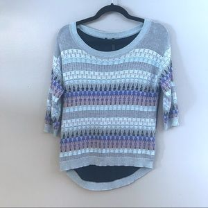 Guess striped patterned sweater - XS